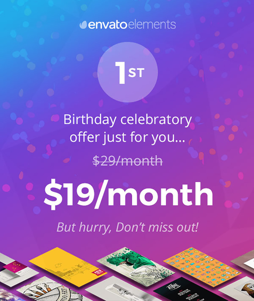 Today Only: Join Envato Elements for Just $19! – Medianic