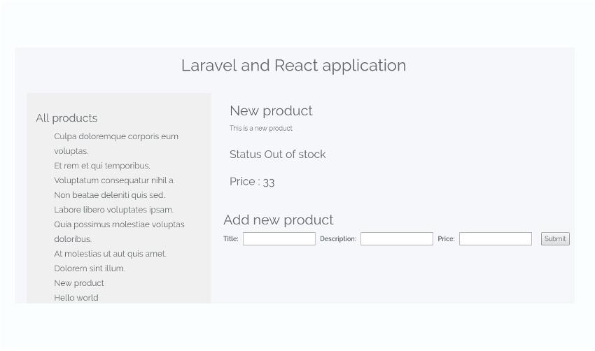 LaravelAndReact-BuildingReactApplicationFinalProduct