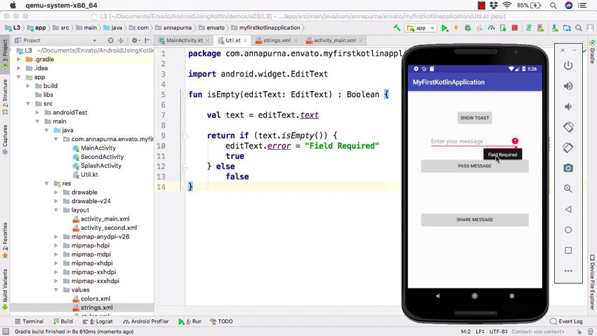 New Course: Get Started Coding Android Apps With Kotlin