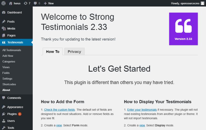 how to create a wordpress slider menu