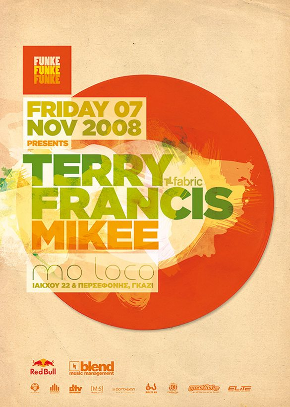 Funke - Terry Francis Poster